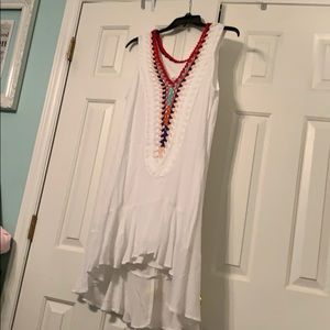 NWOT Venus Crochet accent dress. 12